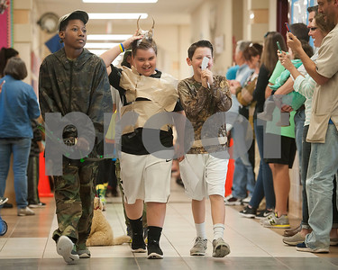 Jack Elementary School students participate in the science vocabulary parade at the school in Tyler on Friday March 9, 2018.   (Sarah A. Miller/Tyler Morning Telegraph)