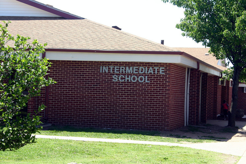 This is the old Intermeidate School where Madison went to 3rd and 4th grade at.