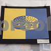 Artwork of a cheeseburger is pictured in the All Saints Episcopal School Student Art Exhibit Monday April 24, 2017. The art exhibit features pieces from all students grade 3K-12. It opens Tuesday at 6:30 p.m. at Brookshire Gym.<br /> <br /> (Sarah A. Miller/Tyler Morning Telegraph)