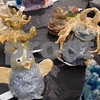 Gargoyles are pictured in the All Saints Episcopal School Student Art Exhibit Monday April 24, 2017. The art exhibit features pieces from all students grade 3K-12. It opens Tuesday at 6:30 p.m. at Brookshire Gym.<br /> <br /> (Sarah A. Miller/Tyler Morning Telegraph)