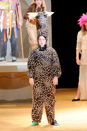 """Don Knight   The Herald Bulletin<br /> Highland Middle School's production of """"The Lion King Jr."""""""