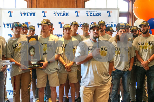 UT Tyler Baseball National Championship