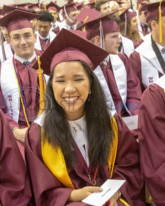 Images from the Commencement Ceremony for Whitehouse High School 'Class of 2019'  on Friday, May 31, 2019,  at Wildcat Stadium, Whitehouse, Tx. (Rick Flack Photo)