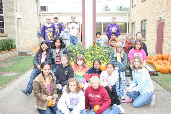 5th Grade Pumpkin Patch 2005