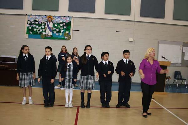 5th Grade Vocation Mass