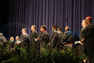 Staff and faculty of Alvin V. Anderson RISE Academy graduation ceremony. Sarah Perez/ Freelance