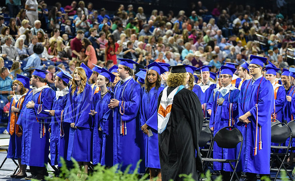 The UT Tyler University Academy held its inaugural graduation on Saturday, June 1 at the Herrington Patriot Center. The Academy is comprised of 3 campuses including Longview, Palestine and Tyler and had a total of 42 graduates. (Jessica T. Payne/Tyler Morning Telegraph)