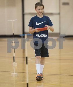 John Jordan, 9, uses an app on a tablet to fly a miniature drone during Drone Adventures, a summer camp held at Tyler Junior College on Wednesday June 6, 2018. Drone Adventures will be held again from July 16-20.  (Sarah A. Miller/Tyler Morning Telegraph)