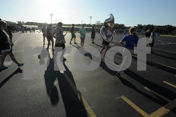 Robert E. Lee Band Practice