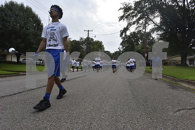 8/20/16 John Tyler High Band March-A-Thon by Andrew D. Brosig