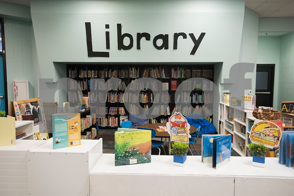 The library is pictured at Promise Academy, a private Christian school in Tyler on the first day of school on Thursday Aug. 23, 2018. The school has a new location inside the Boys and Girls Club building, 504 W. 32nd Street.  (Sarah A. Miller/Tyler Morning Telegraph)
