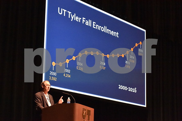 University of Texas at Tyler Convocation