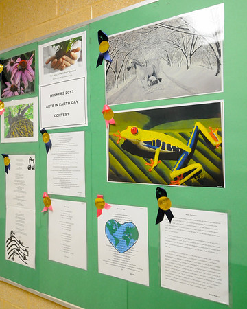 ARTS CONTEST WIINNERS, PENNIES PROJECT, ST. AUGUSTINE PREP  04/22/13