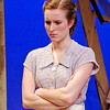 "Mark Maynard | for The Herald Bulletin<br /> Juli Biagi turns in a strong performance as Jennie Mae Layman in ""The Diviners"" presented by Anderson University."