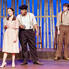 "Mark Maynard | for The Herald Bulletin<br /> Darlene Henshaw (Mackenzie Foulks) rolls her eyes as Melvin Wilder (Noah Robinson) tries to convince her to go to a dance with Dewey Maples (Mac White) in ""The Diviners"" presented by Anderson University."