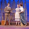 "Mark Maynard | for The Herald Bulletin<br /> In ""The Diviners,"" former preacher C. C. Showers (Samuel Lynch) encounters Jennie Mae Layman (Juli Biagi) and her brother, Buddy (Isaac Derkach), when he arrives in Zion, Indiana."