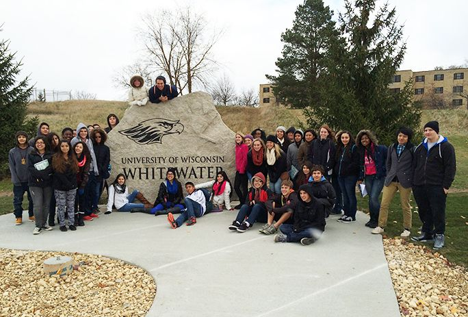 November 2014 visit to the University of Wisconsin-Whitewater