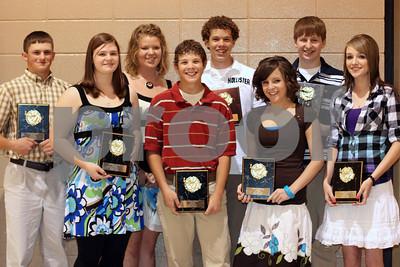 Sophomores top 10%