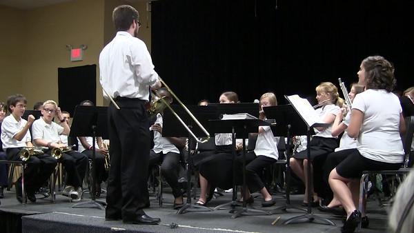 Adan's band concert 2012