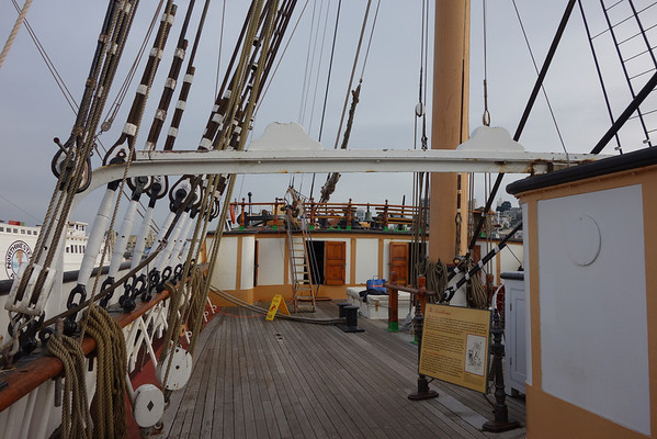 Age of Sail on the Balclutha 2013