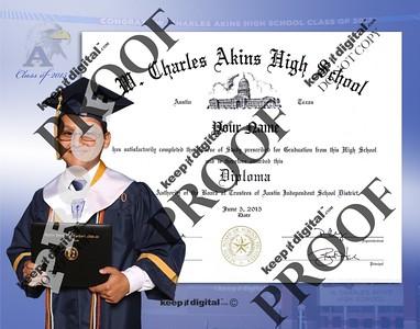2015 Akins HS Keedjit™ Diploma Proofs