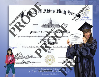 2012 Akins HS Keedjit™ Diploma Proofs
