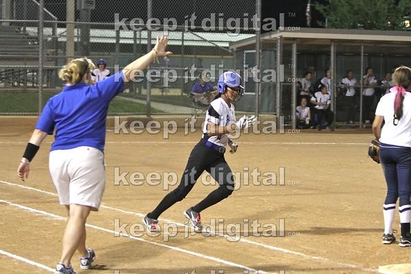 Akins vs Anderson Softball 03_27_12