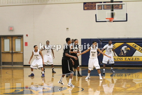 Akins vs Lanier Boys 12_17_11