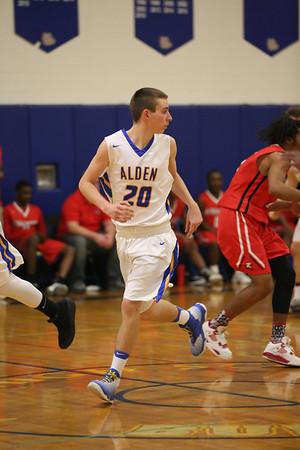 Alden Boys basketball 2-21-17