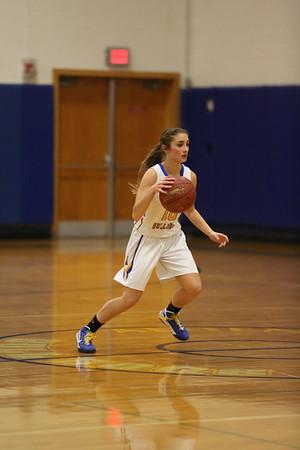 Alden Girls Basketball vs Holland  12-13-16