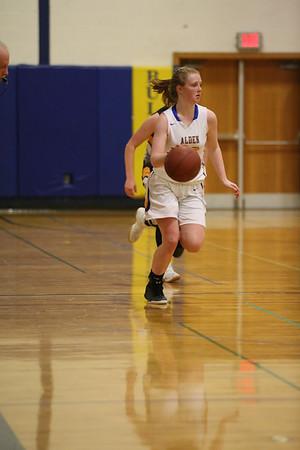 Alden Girls  basketball 2-21-17