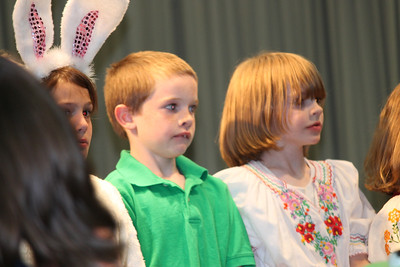 Alex's 2nd grade program- Folk Tales