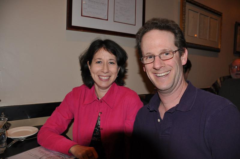 Erica Zabusky and Scott Lewis