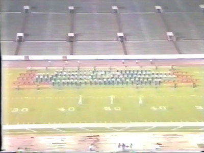 Allen High School 1987 Texas State Marching Band Contest