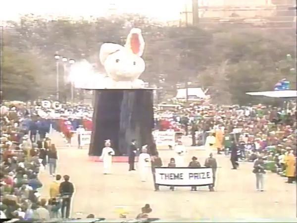 Allen High School Escadrille In The 1989 Cotton Bowl Parade