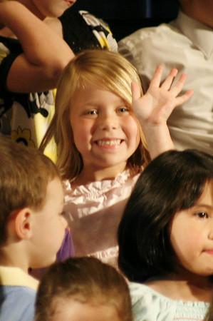 Allison's Kindergarten Spring Concert 2009