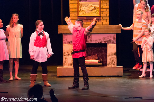 Allison's Play Beauty and the Beast 3-16-2016