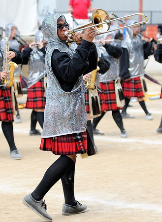 Don Knight | The Herald Bulletin<br /> Indiana State Fair Band Day on Saturday.