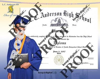 2017 Anderson HS Keedjit Diploma Proofs