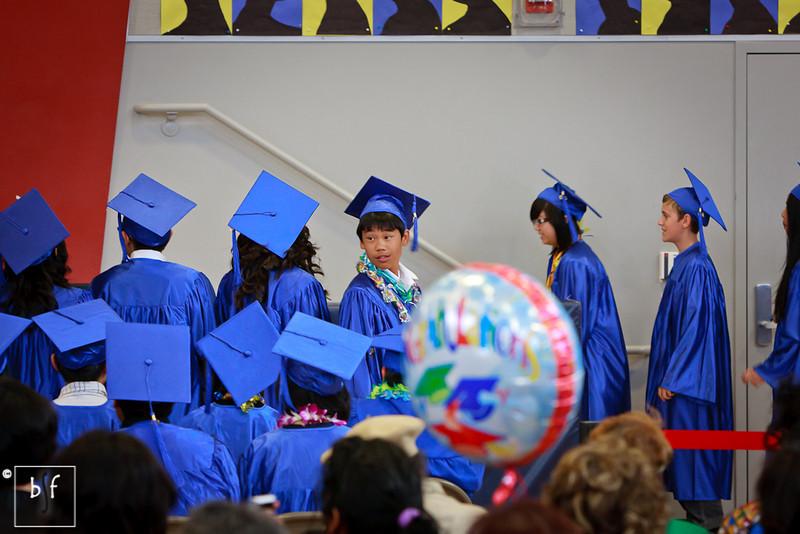 Andrew is focused on the ceremony. ;-)