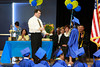 Mr. Hamby gives Jayann her diploma.