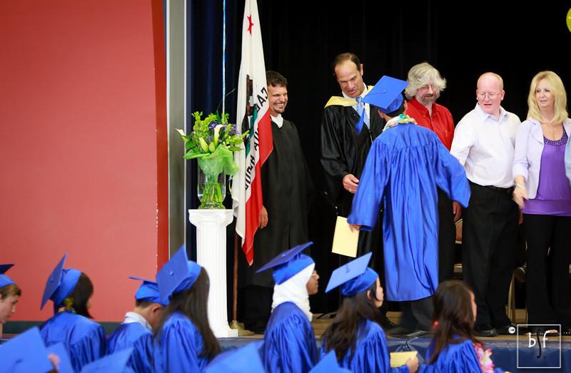 The rest of the School Board congratulate Andrew.