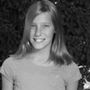 Anna's 5th grade photo - black & white