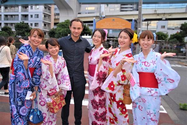 Aoyama Lingwave Crusing Party July 7, 2018