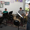 At the keyboards, Vermilion Music Dept. leader, Mike Komperda, Garrett Rangel, Darrin Deverick and on sax, is Derek Rangel.