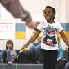 Thomas Jefferson Elementary School thrid-grader Nadia Ford and classmates participated in Jump Rope for Heart Monday morning.  The event raises funds for the American Heart Association.  Staff photo by C.E. Branham