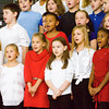 Grant Line Elementary School fourth-graders sing patriotic songs during the school's Veterans Day Program on Friday morning. Staff photo by Christopher Fryer