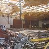 Furnish Gymnasium at Henryville High School. Staff photo by C.E. Branham