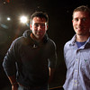 John Zisa, left, is the new theater director for New Albany High School. Robbie Steiner, right, is the new theater director at Floyd Central High School. Staff photo by C.E. Branham