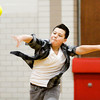 Dylan Post makes a throw during a dodgeball tournament at Parkview Middle School in Jeffersonville on Friday afternoon. The tournament was organized as a reward for the school's Positive Behavior System, where students earn points they can trade in every nine weeks. Staff photo by Christopher Fryer